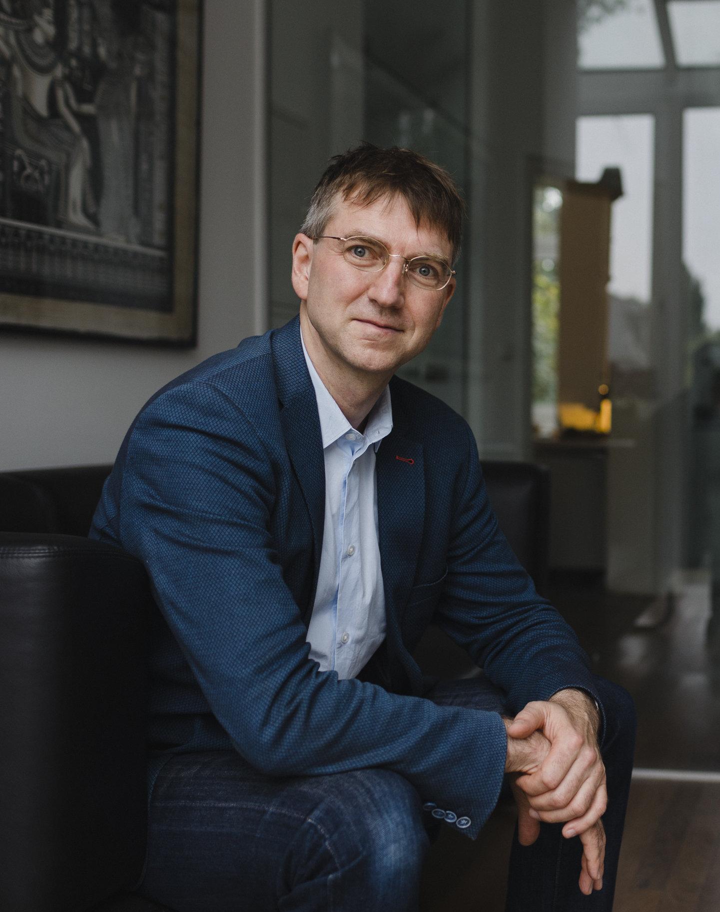 Porträtfoto von Olaf Hars, systemischer Business Coach
